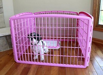 Details About Dog Play Pen Iris Indoor Outdoor Puppy Cage