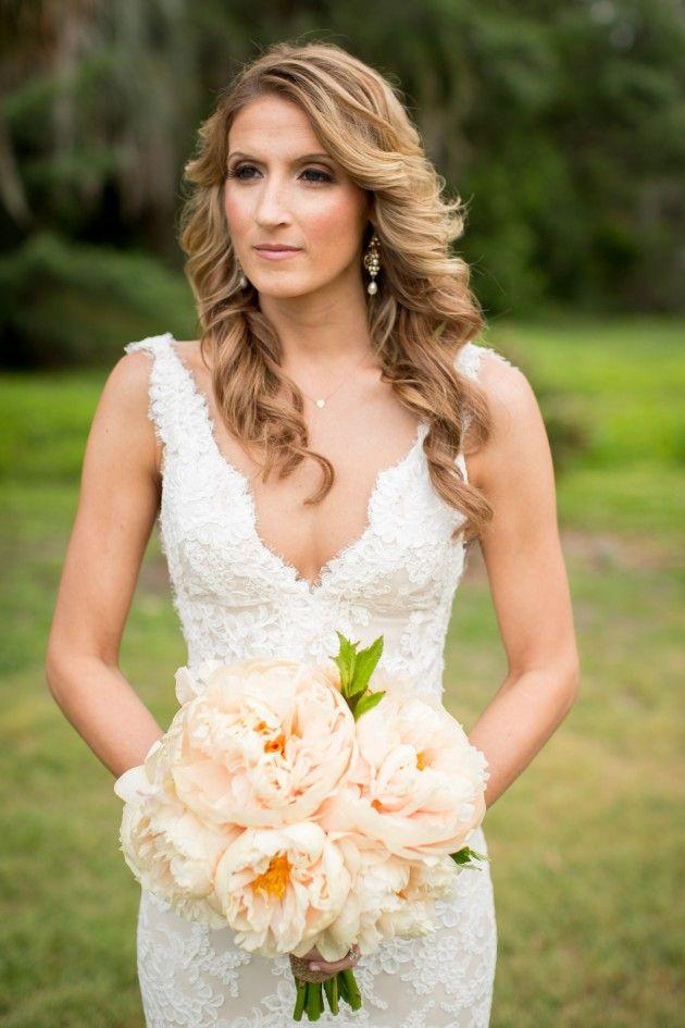 peinados de boda para pelo ondulado