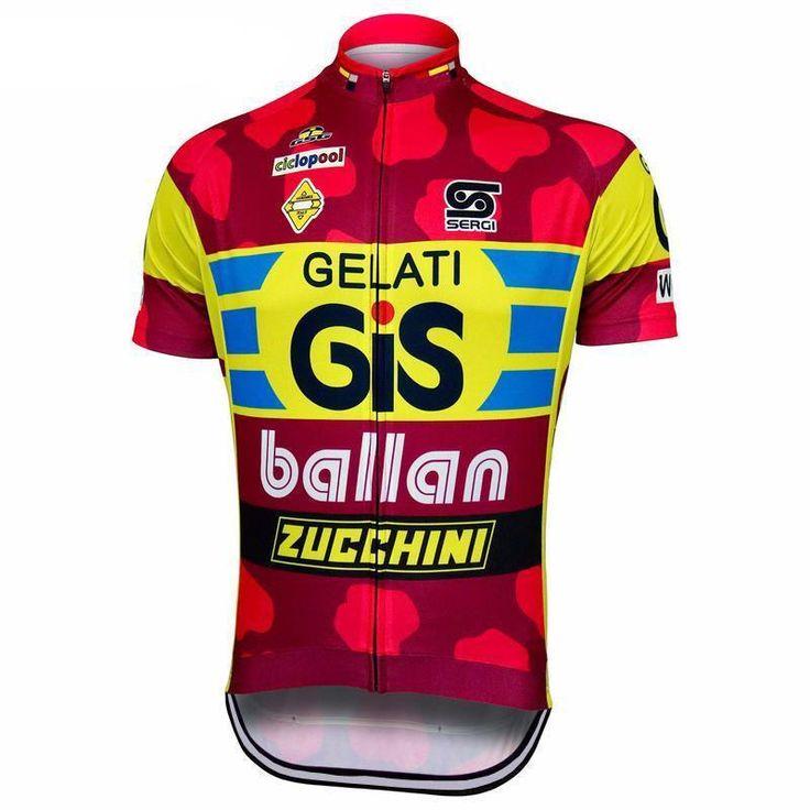 Retro GiS Gelati Cycling Jersey