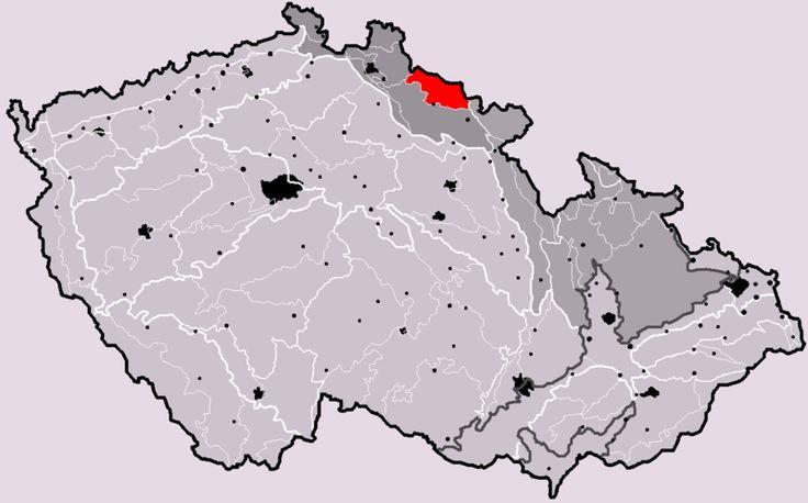 Nejvyšší hory pohoří v České republice - Najdi nejvyšší horu pohoří, které je na mapě vyznačené červenou barvou.