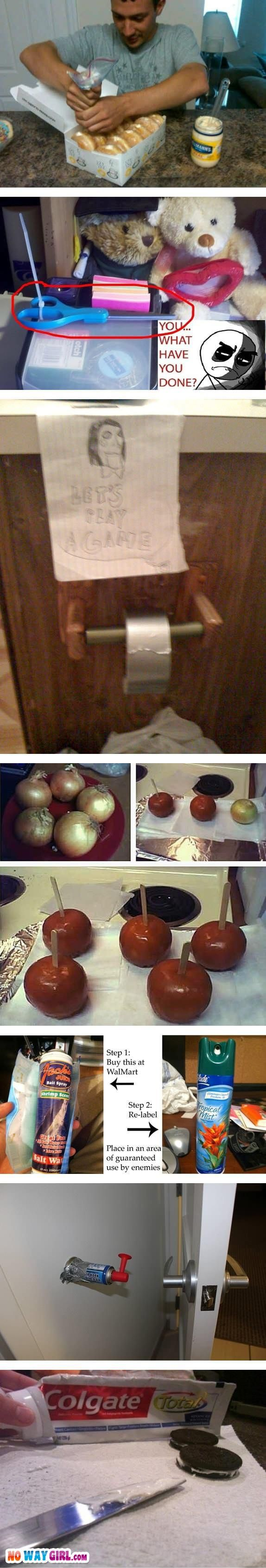 Great prank ideas!