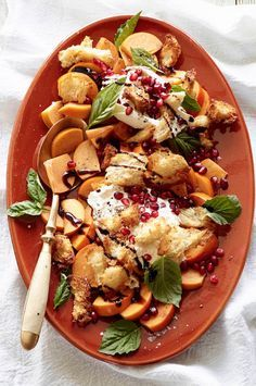 Hands down my favorite fall salad - meet the Persimmon Caprese Salad from www.whatsgabycooking.com (@whatsgabycookin)