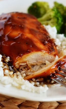 BAKED TERIYAKI GLAZED CHICKEN