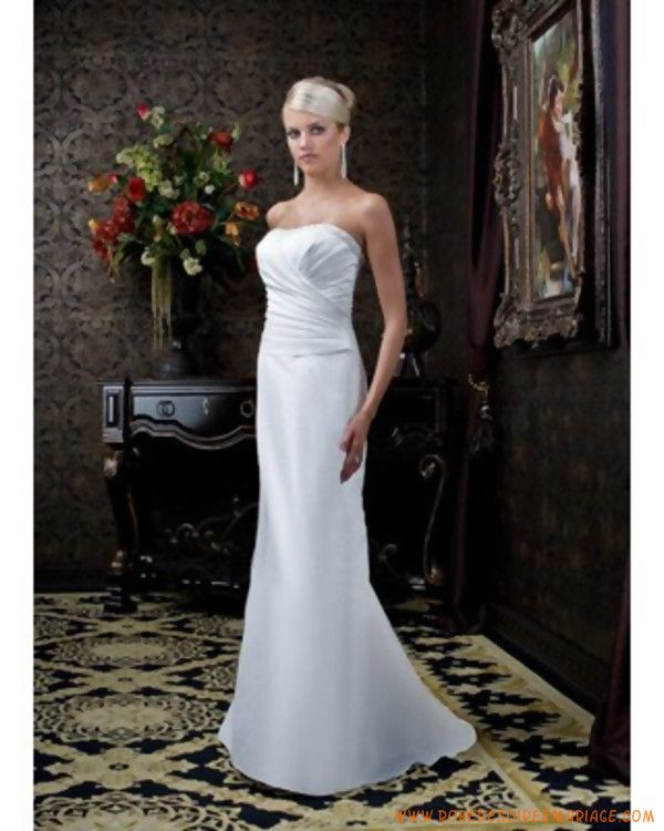 grenoble satin html custom made line robe de forward robe de mariée ...