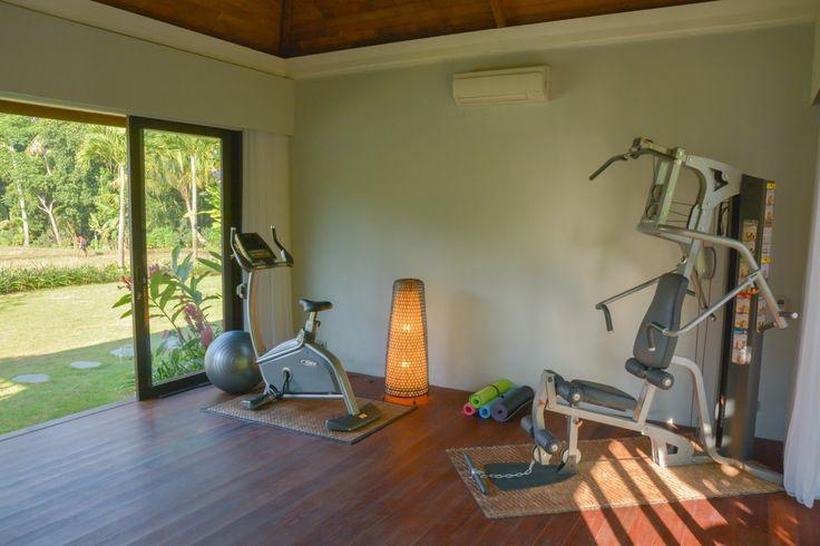 Villa Lumia Bali - Fitness Center www.villalumiabali.com