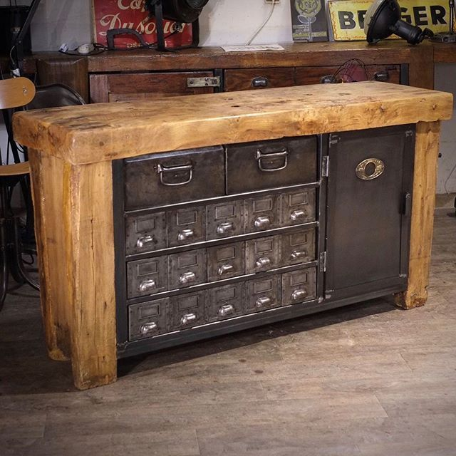 Renaud Jaylac Antiquites Brocante Toulouse Meuble Industriel Metier In 2020 Vintage Industrial Furniture Vintage Industrial Modern Shabby Chic