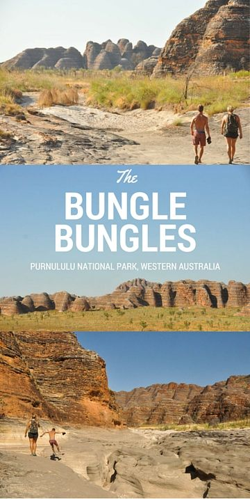 The Bungle Bungles - Purnululu National Park, Western Australia // www.hummingbirdaway.com