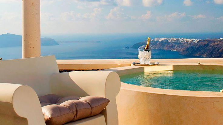 Rocabella Santorini Resort & Spa en Imerovigli | Splendia - http://pinterest.com/splendia/