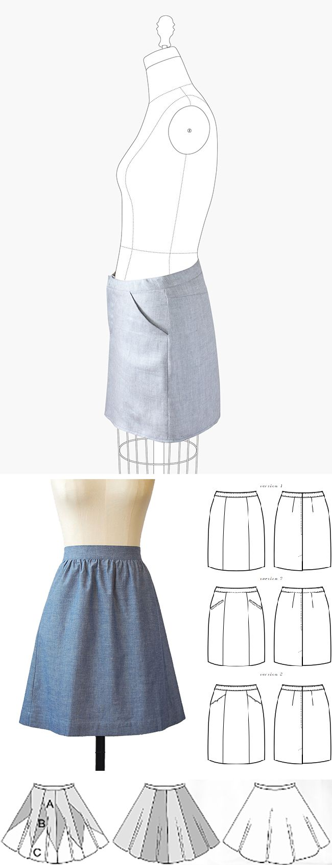 17 best ideas about make your own clothes making make your own basics the skirt s