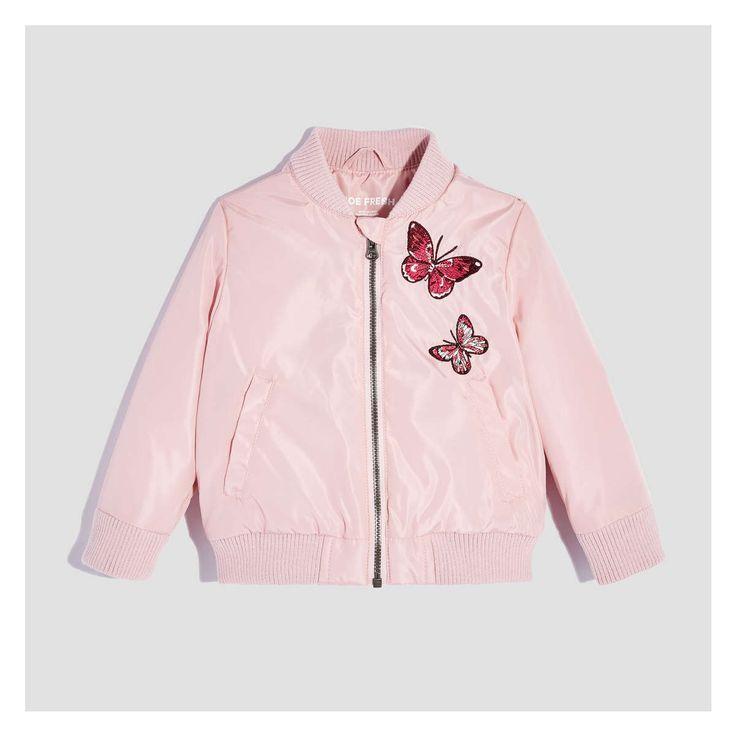 Toddler Girls' Bomber Jacket
