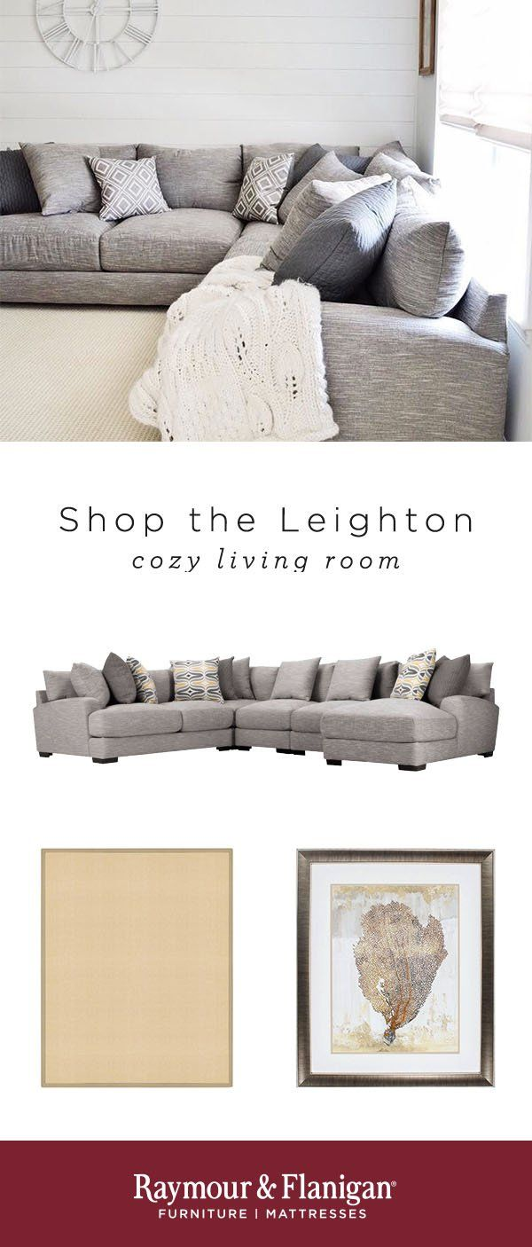 Leighton 4-pc. Sectional Sofa | Living Room Ideas | Home ...