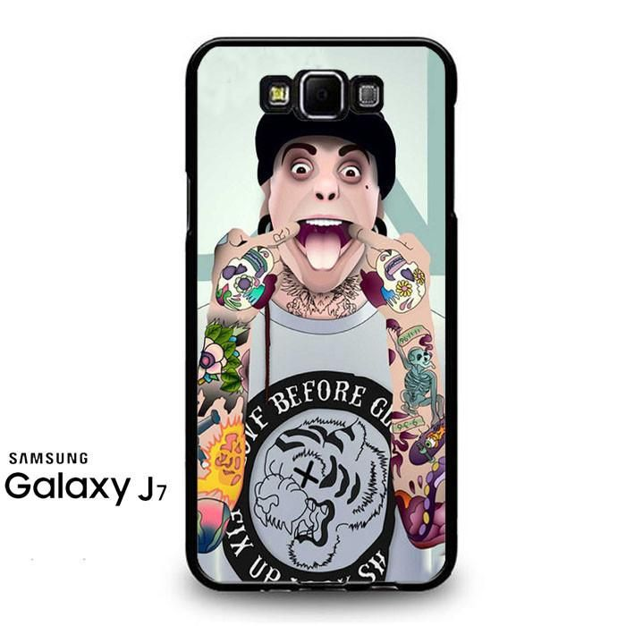 Tony Perry Pierce The Veil Art Samsung Galaxy J7 2016 Case