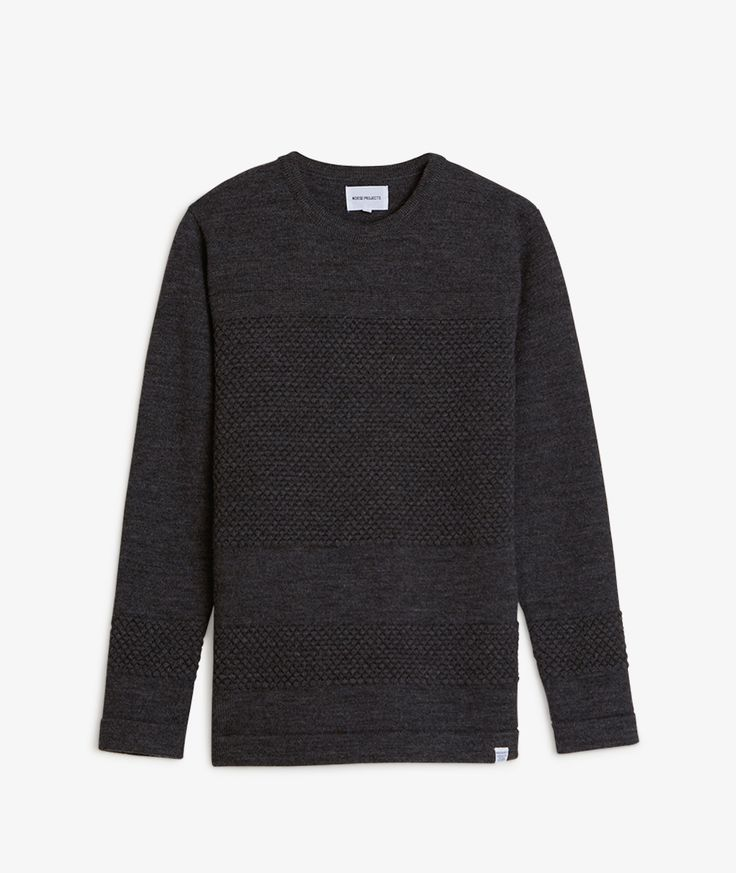 Norse Projects // Bubble Crew Neck Sweater
