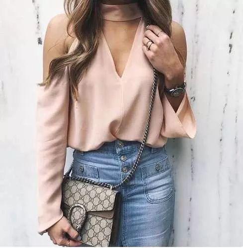 blusa campesinas limonni dama elegantes de mujer moda li154