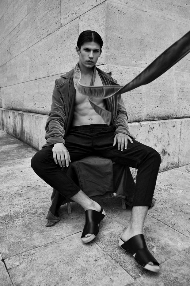 Luca Aronne in Disconnected by Yamina Laidani