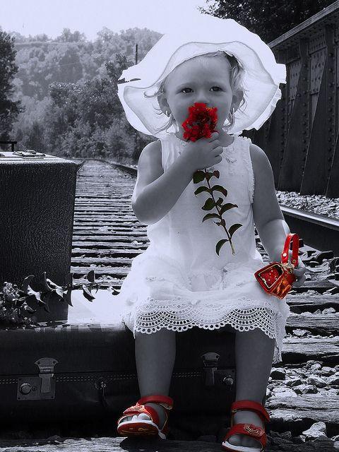 Rosamaria G Frangini | Black&White Photography | Black & White • Photography with Red Splash