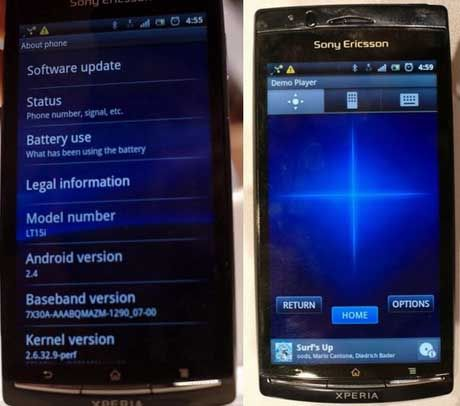 Ringtones For Sony Xperia Arc, 152 MP3.: Portable Own