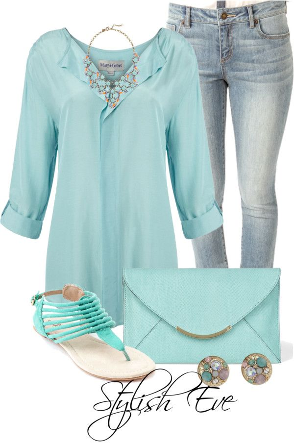 love this color and outfit.