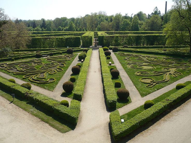 Kromeriz - Kvetna zahrada ornamenty - Category:Topiary - Wikimedia Commons
