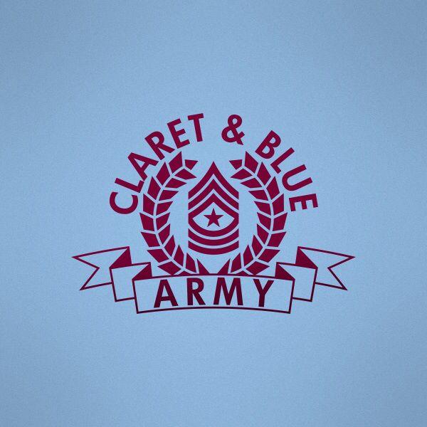 Claret Blue Arrrmyyy