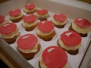 Some super easy red nose cupcakes for Sport Relief or Red Nose Day