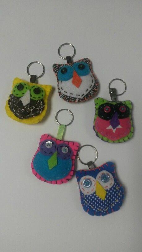 Owl key rings