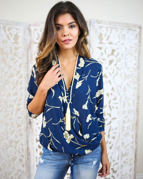 Ellie Blouse. Pretty with white pants, shorts or skirt