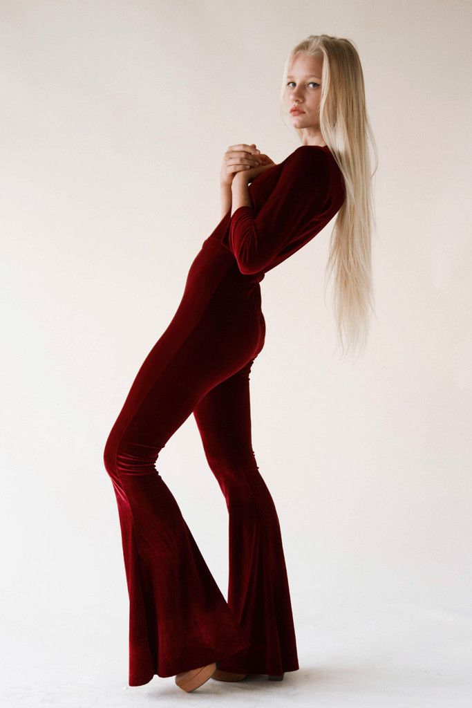 Uschi Catsuit in Sultan Red