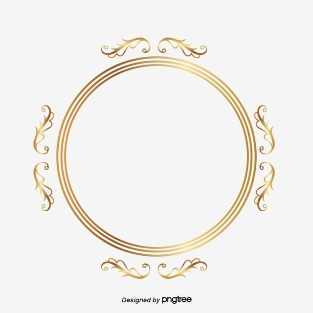 Gold Circle Frame Material Circle Clipart Frame Clipart Circles Png And Vector With Transparent Background For Free Download Gold Circle Frames Circle Clipart Circle Frames