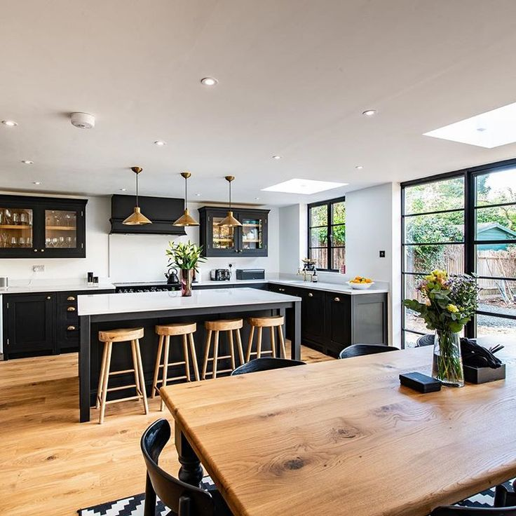 We yabbered away talking kitchen extensions tonigh…