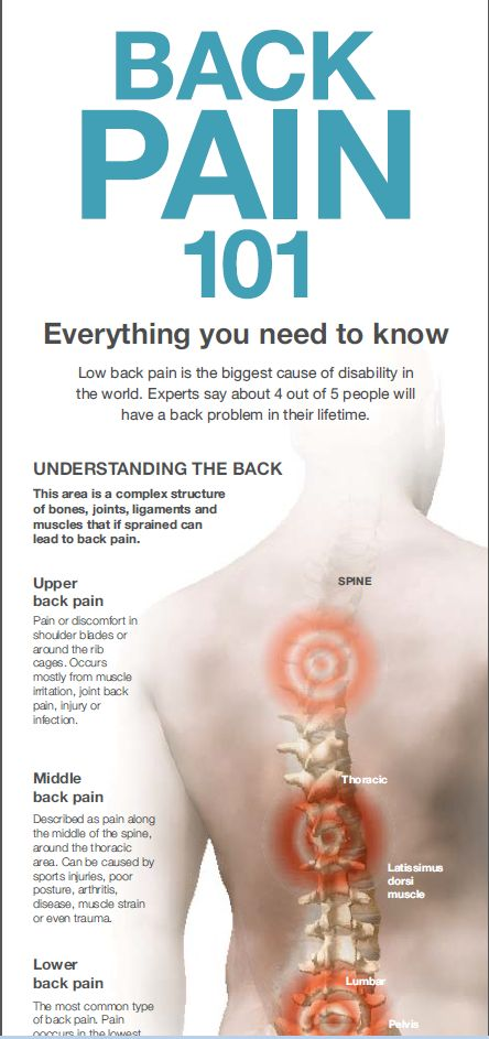 Back Pain: What Should You Know