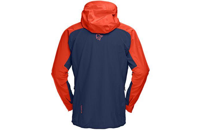 Norrona falketind windstopper hybrid jacket for men