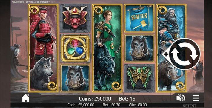 Warlords: Crystals of Power - der NetEnt Slot im Test auf Slots Express