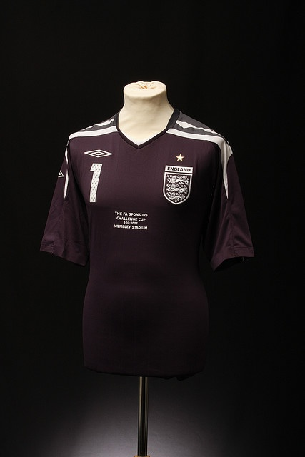 England Football Shirt (Goalkeepers, 2007-2008)