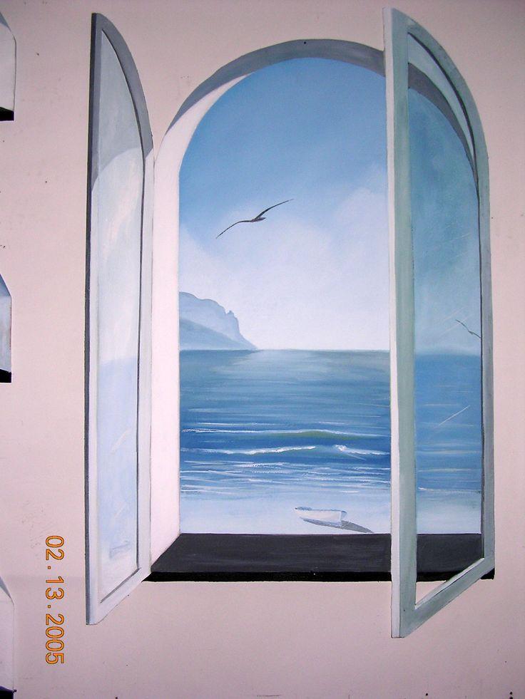 Finta finestra su pannello