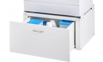 Waschmaschinenunterschrank 33 X 61 X 55 Cm Schrank Wasche Und