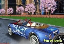 Free Spiderman, car racing Game