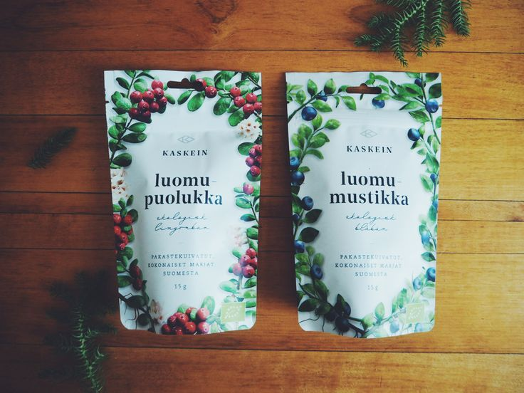 Finnish #organic freeze-dried #berries  from Kaskein