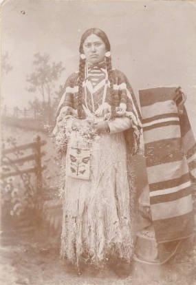 Ellen Compoo - Nez Perce - circa 1885