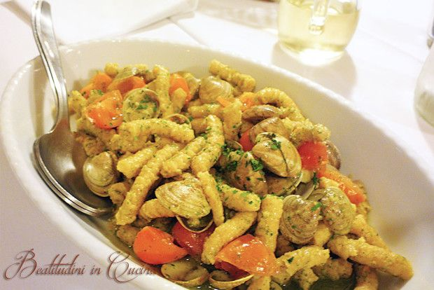 Passatelli alle vongole    Italian recipe    Un primo piatto tipico della costa romagnola, che ci porta il profumo del mare direttamente in casa!    #italy #recipes #pasta #ricette #primopiatto #pesce