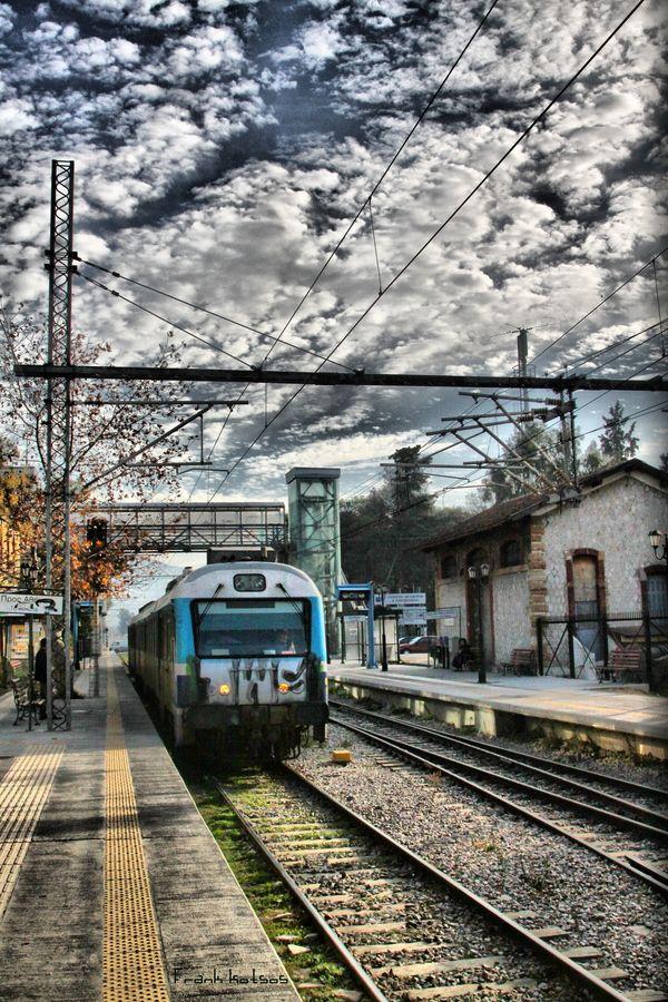 Train to Athens, Greece