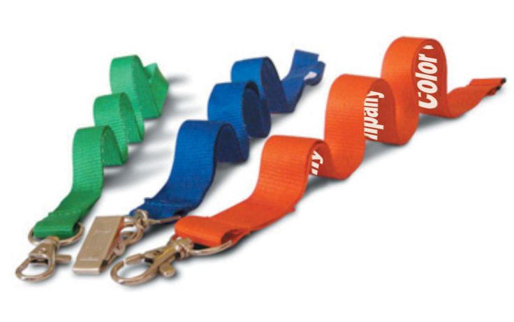For intricate designs, one can opt for dye sublimation process, where the color gets transferred on the material of the lanyard at a very high heat.