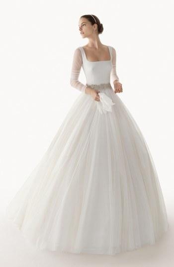 Incredible chiffon gown