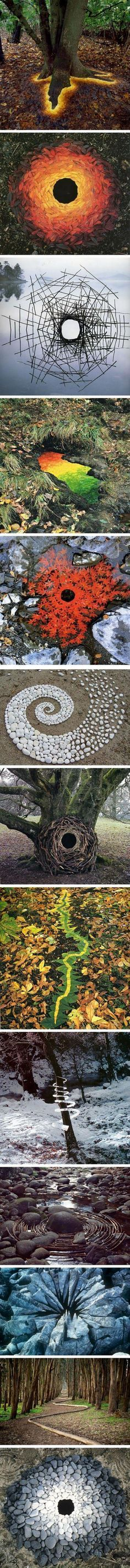 An+Artist+Used+Nature+To+Create+Some+Amazing+Land+Art