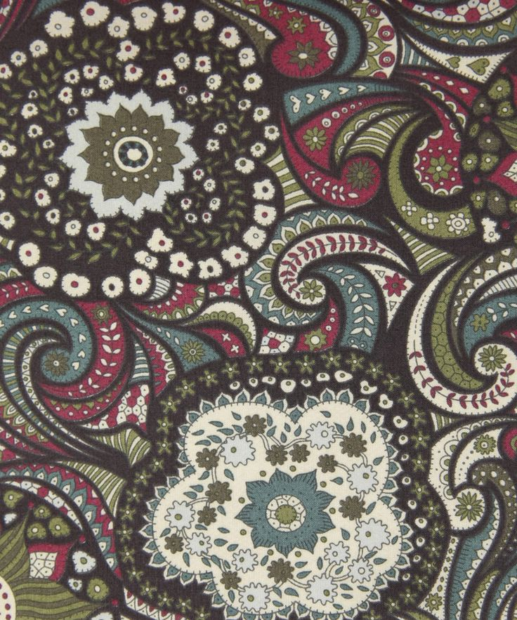Liberty Art Fabrics Busy Issie A Tana Lawn Cotton