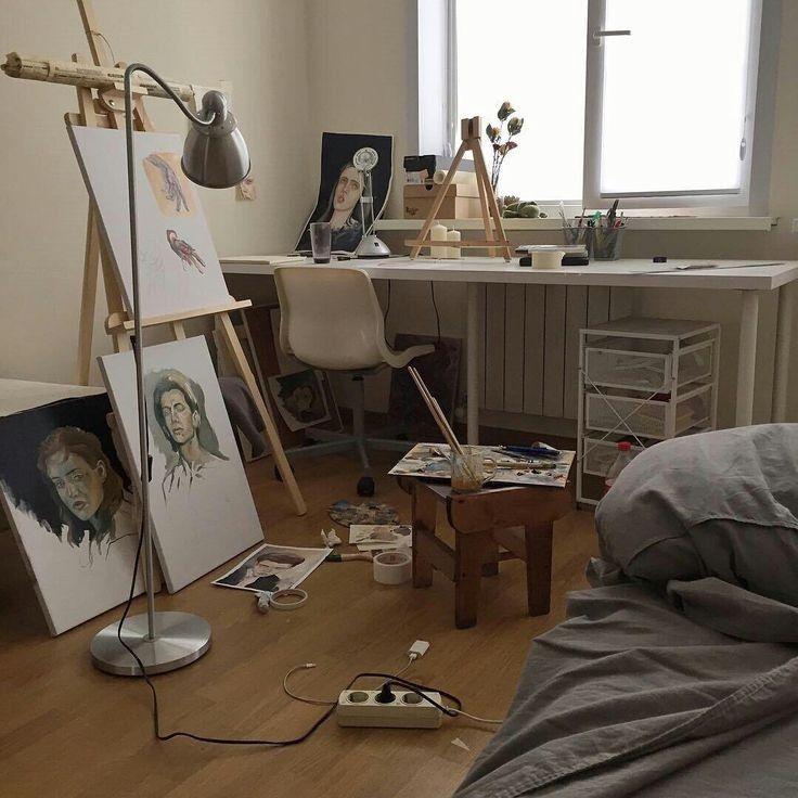 фото комната художника наших электрониках браслет