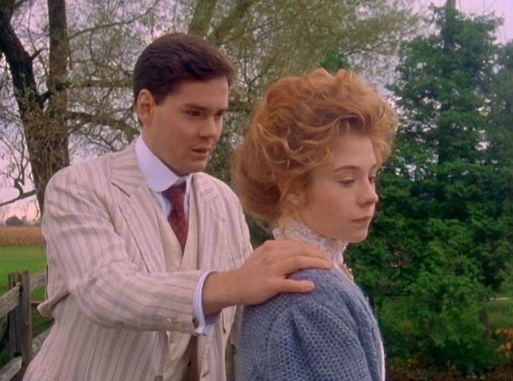 """Anne of Avonlea (1987) is a Canadian miniseries. It's originally title was Anne of Green Gables: The Sequel. Gilbert Blythe is played by Jonathan Crombie and Anne Shirley is played by Megan Follows. Anne: """"I have a feeling things will never be the same again, will they?"""" Gilbert: """"Well, I won't change. That's the least that I can promise you."""" The miniseries is based on the books by Lucy Maud Montgomery: Anne of Avonlea (1909), Anne of the Island (1915), and Anne of Windy Poplars (1936)."""