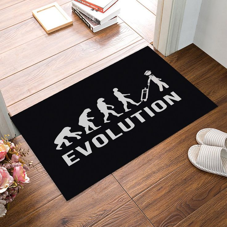 Pilot evolution designed floor bath mats
