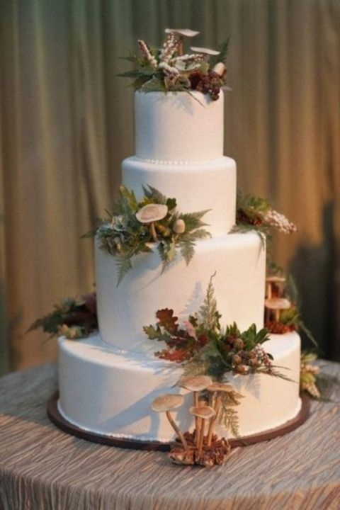 38 Best Woodland Wedding Cakes Images On Pinterest Cake