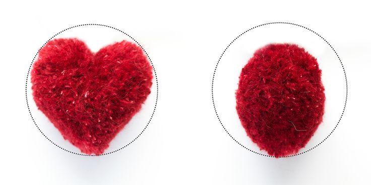 Lag en supersøt hjertepompom ♥︎